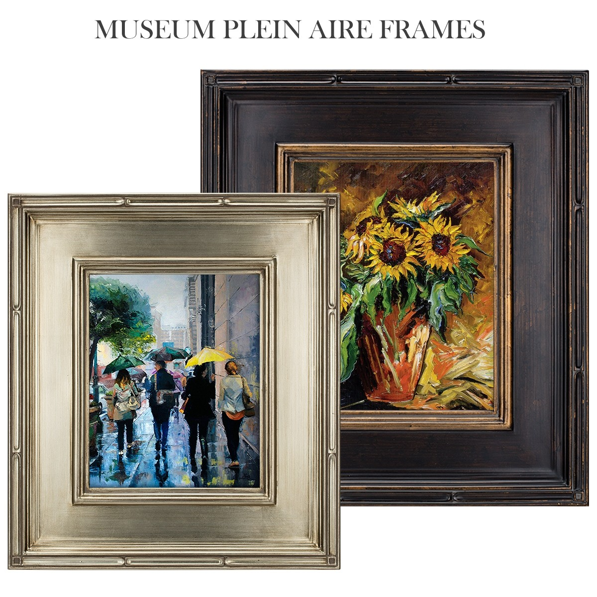 ae602f98c613 Museum Plein Air 3.5In Wide Frames -Ready Made Frame - Jerry s Artarama