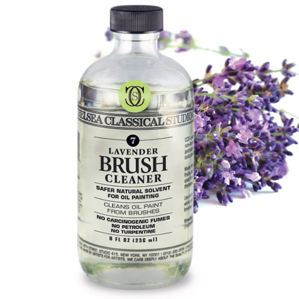 Lavender Brush Cleaner