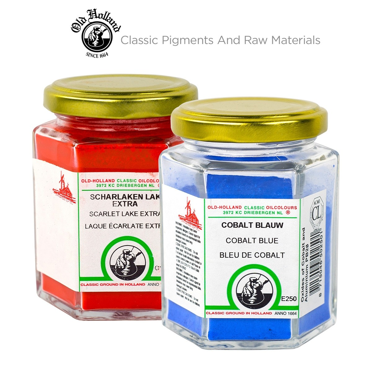 Old Holland Pigments, Make your own paint