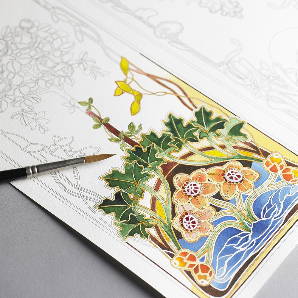 Pepin Coloring Books Tiles And Postcards
