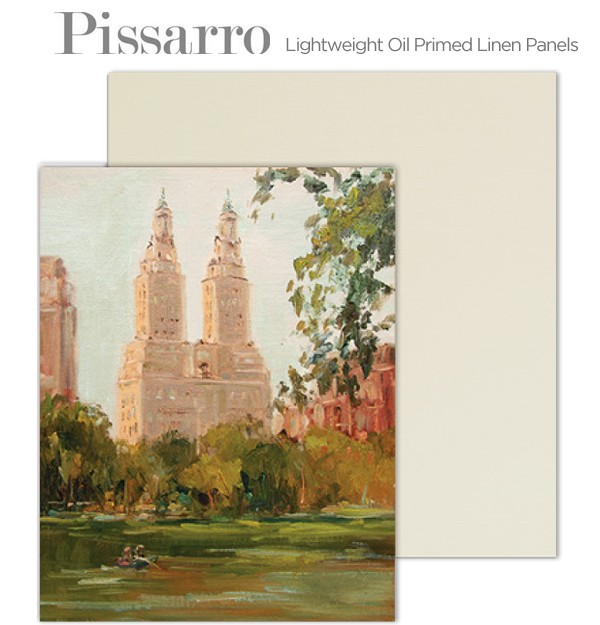 Pissarro Lightweight Oil Primed Plein Air Linen Panels
