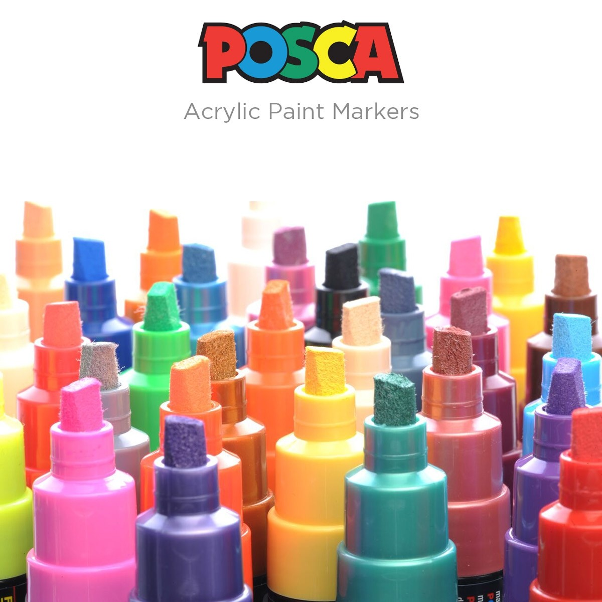 Posca Acrylic Paint Broad Tip Markers