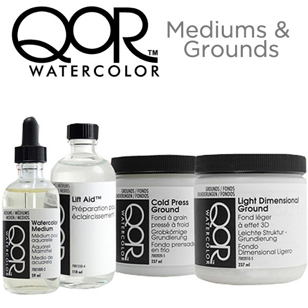 QoR Watercolor Mediums and Grounds