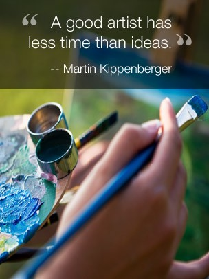 Inspirational Quote Art eGift Card - Martin Kippenberger eGift Card