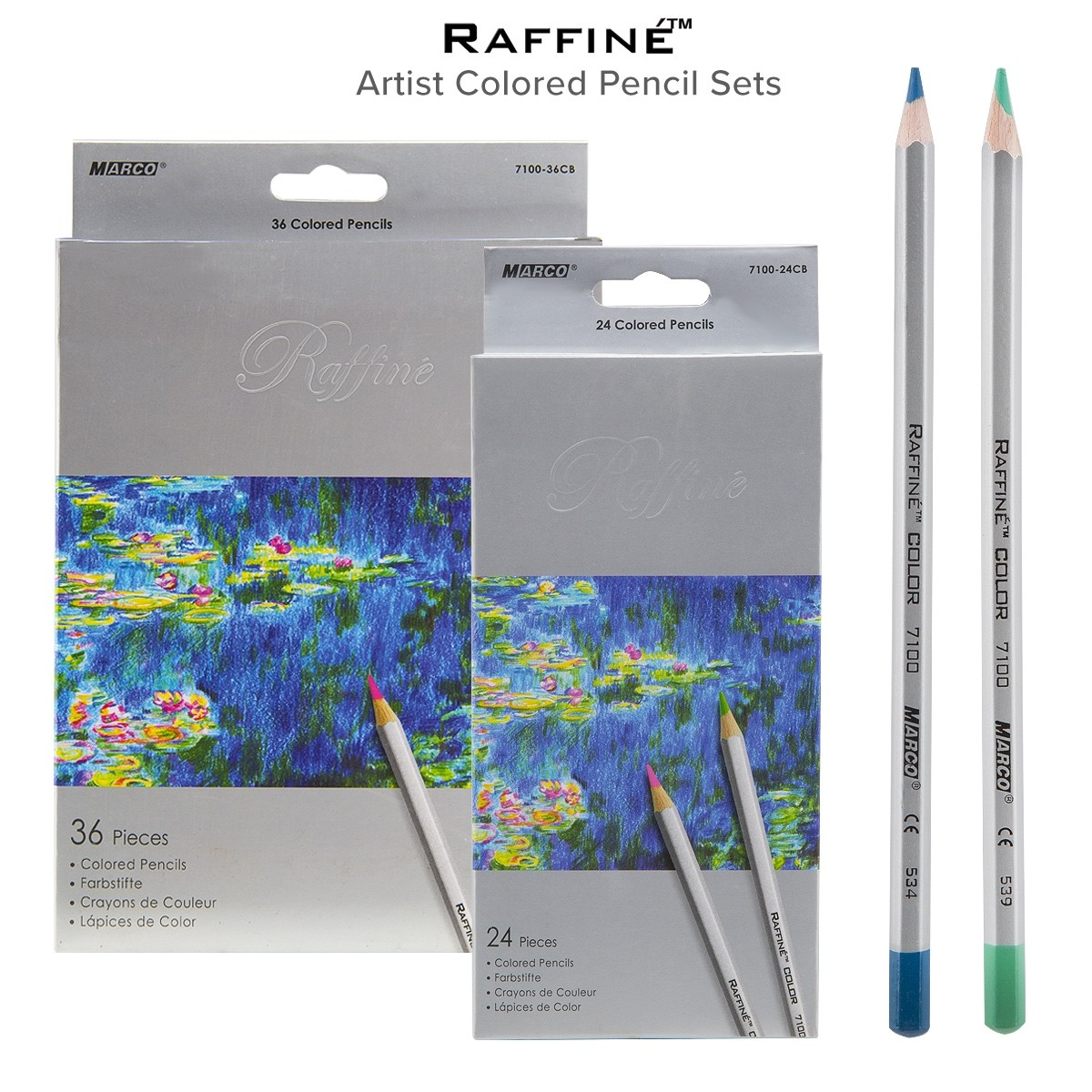 Raffiné Artist colored pencil sets