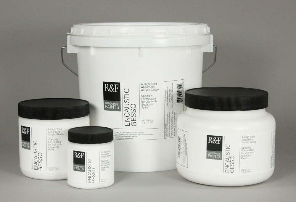 R&F Encaustic Grounds, Mediums, and Raw Materials