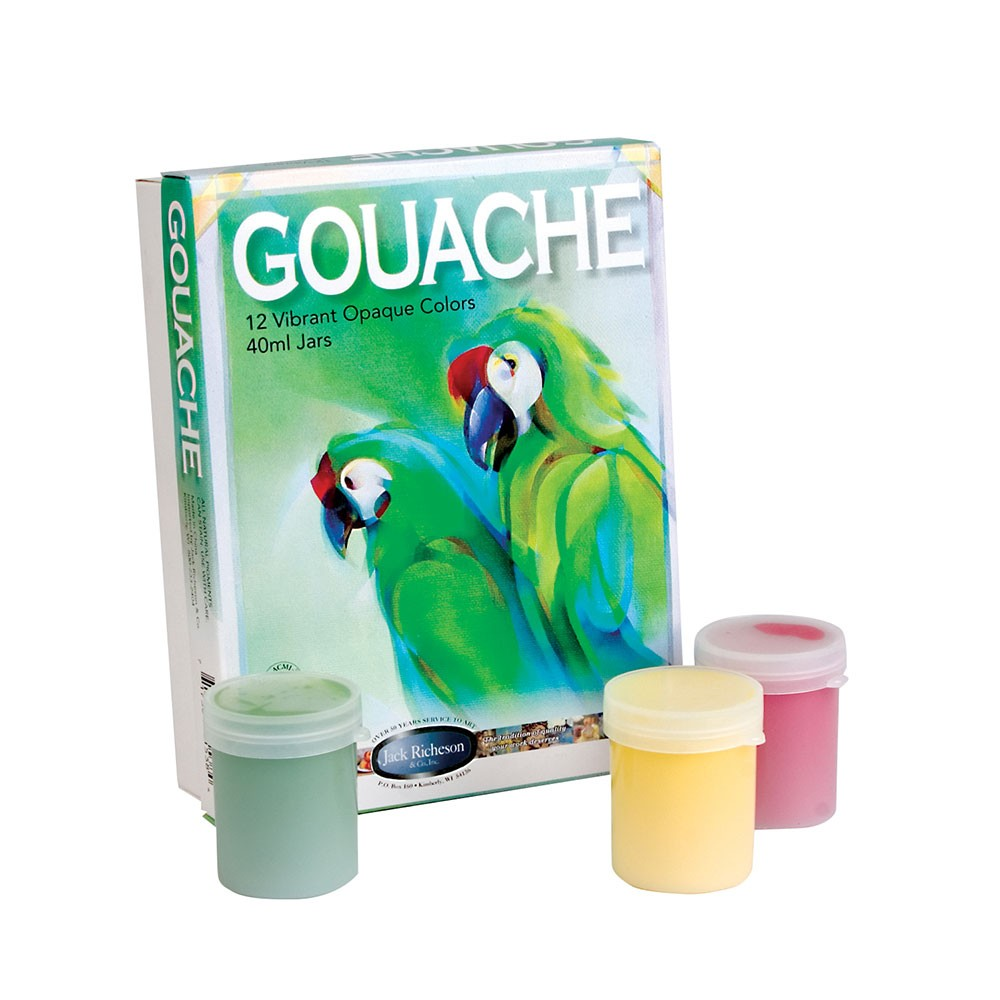 Jack Richeson Gouache Jar Set