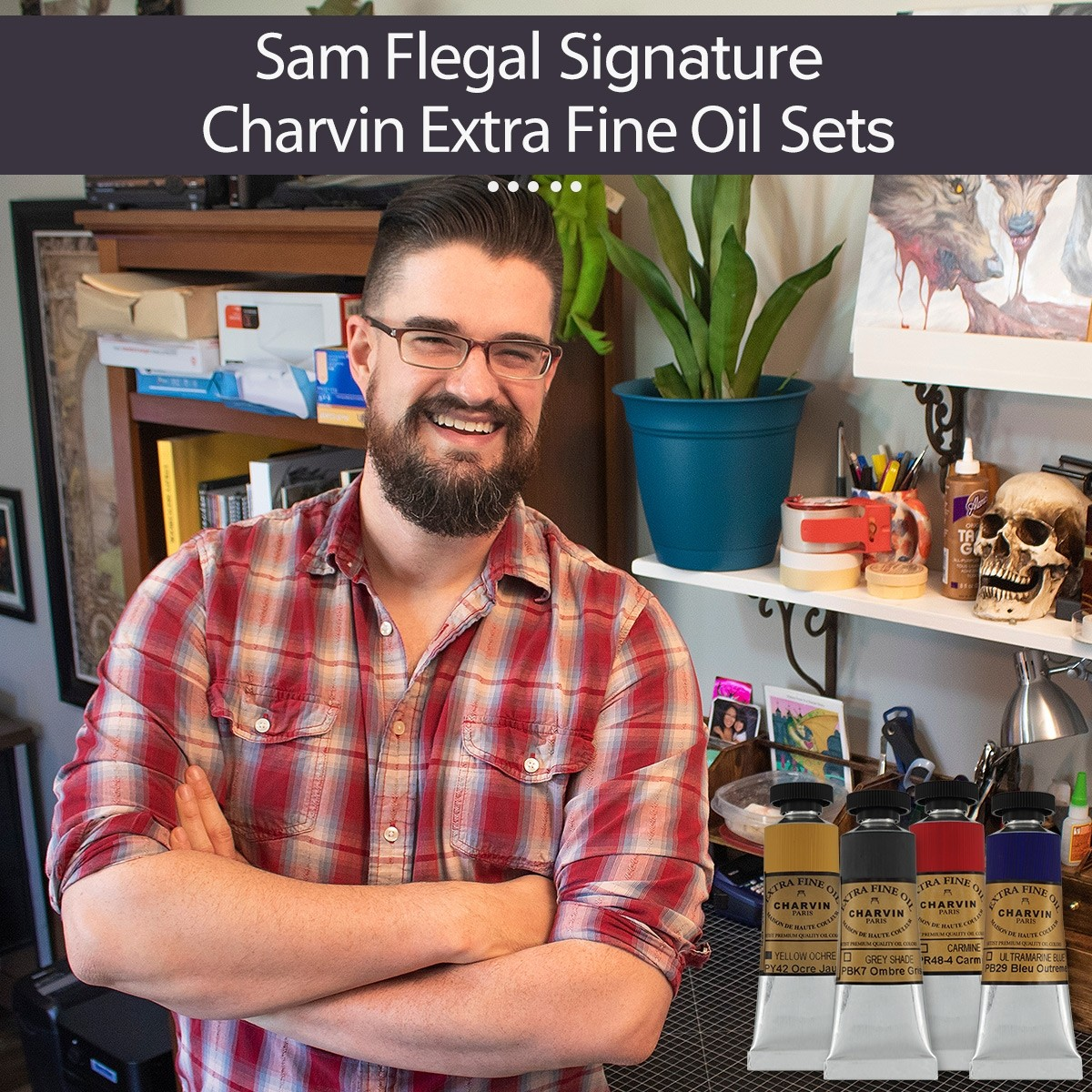 Sam Flegal Signature Charvin Extra Fine Oil Paint Sets