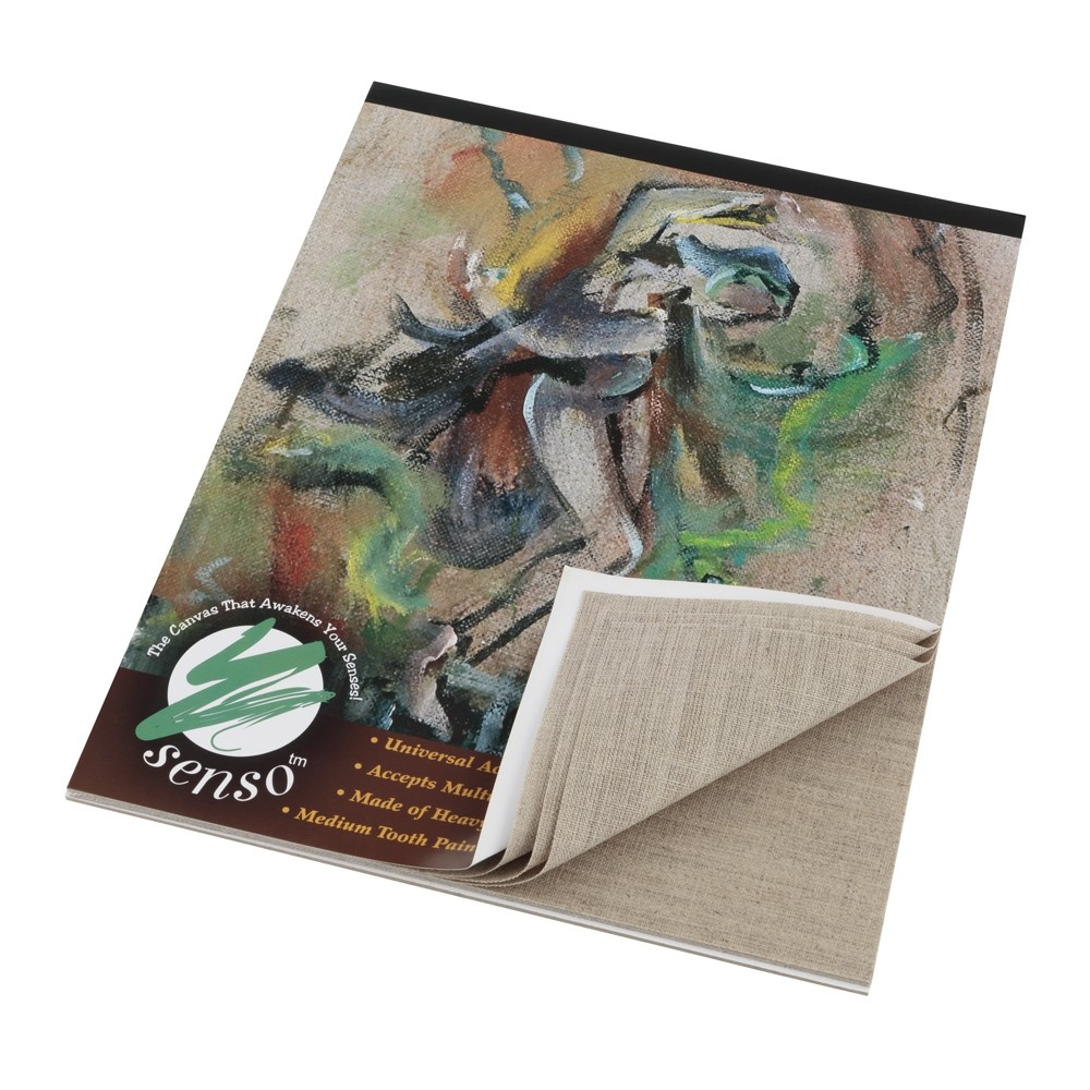 Senso Clear Primed Linen Canvas Pads