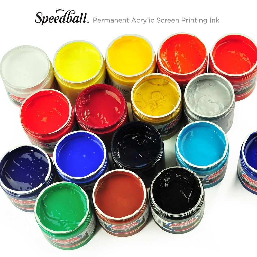 Speedball Permanent Acrylic Screen Printing Ink