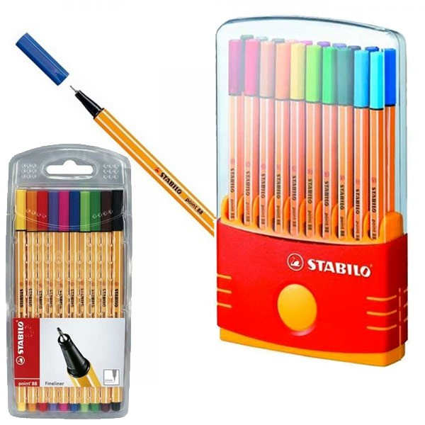 Stabilo- Fineliner 88 Point Pen Sets