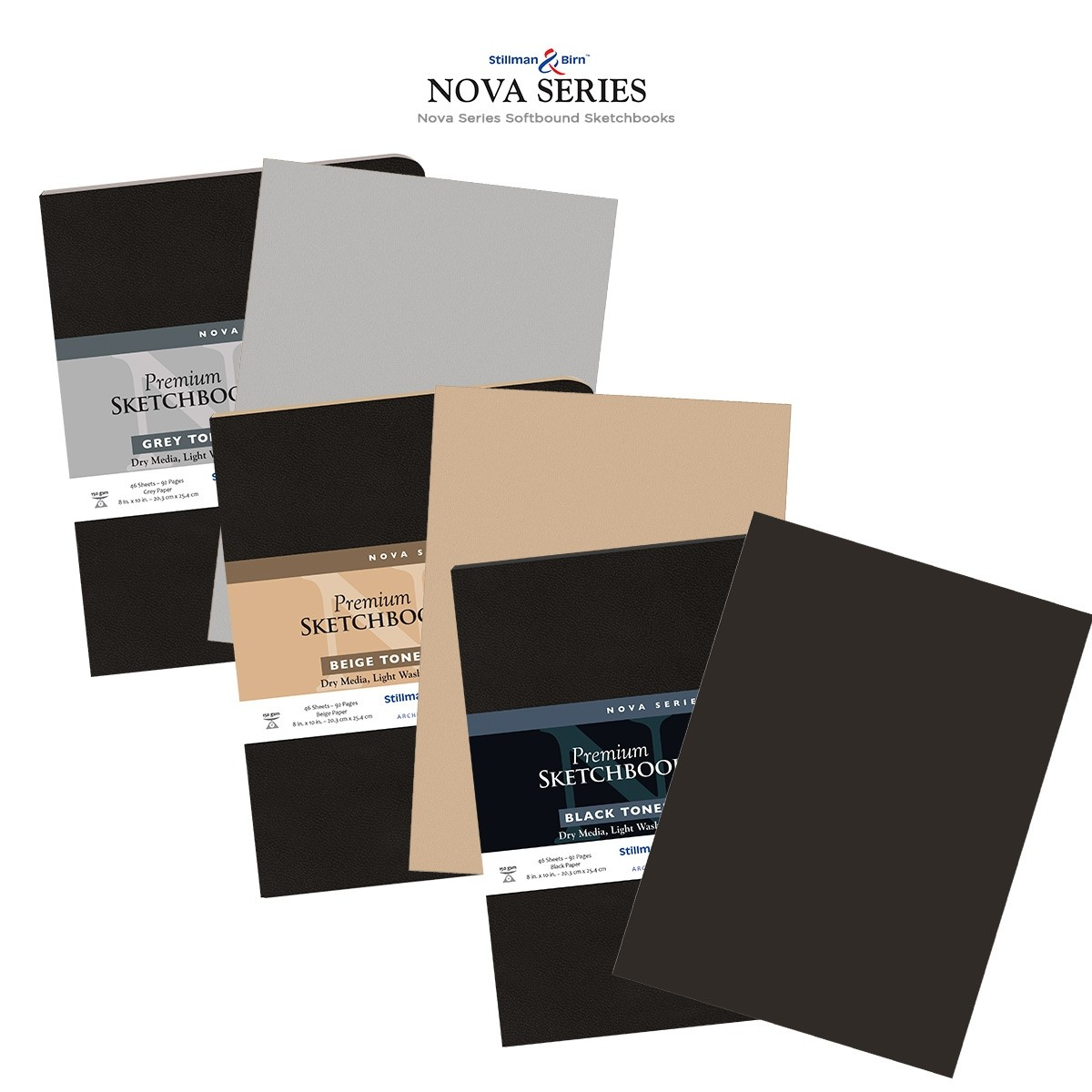 Premium Softcover Sketchbooks - High-Performance Art Papers