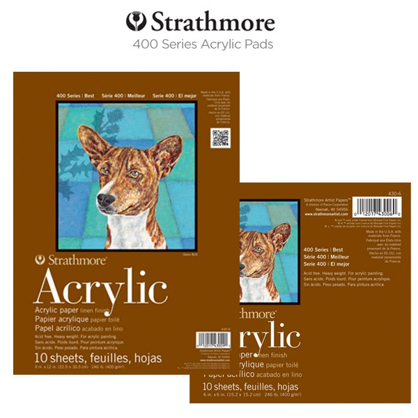 Strathmore 400 Series Acrylic Pads