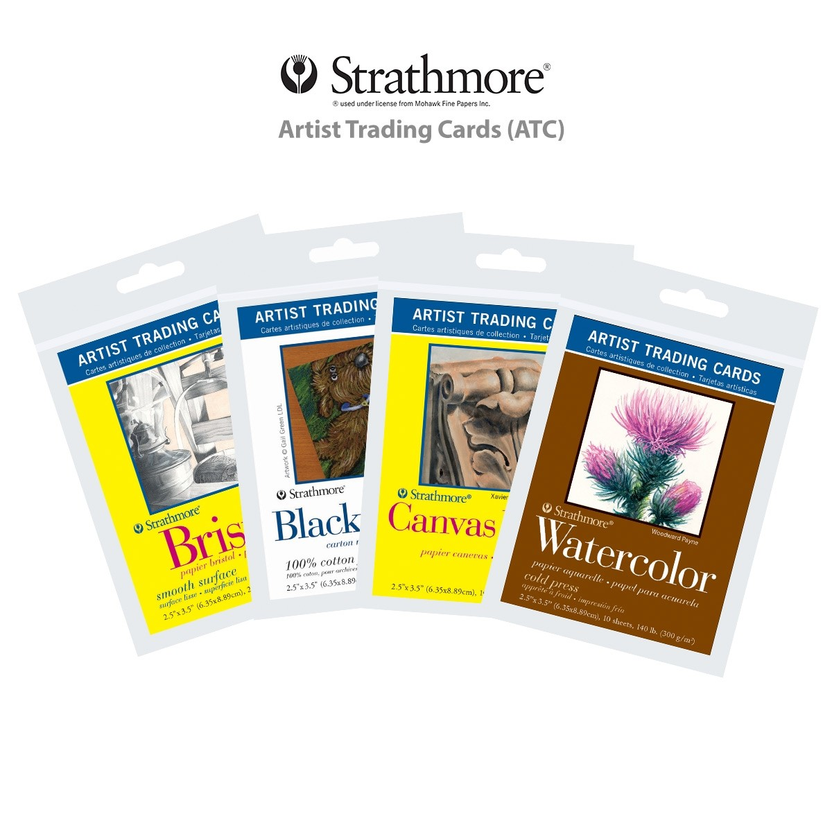 Strathmore Artist Trading Cards (ATC)
