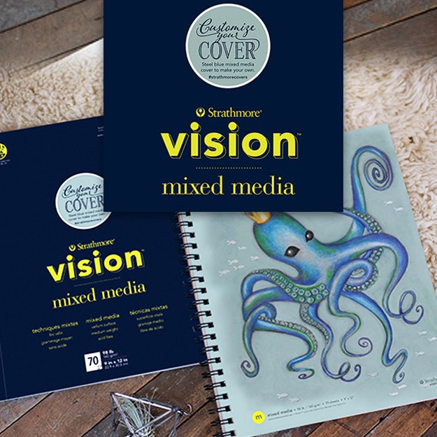 Strathmore Vision Mixed Media Pads