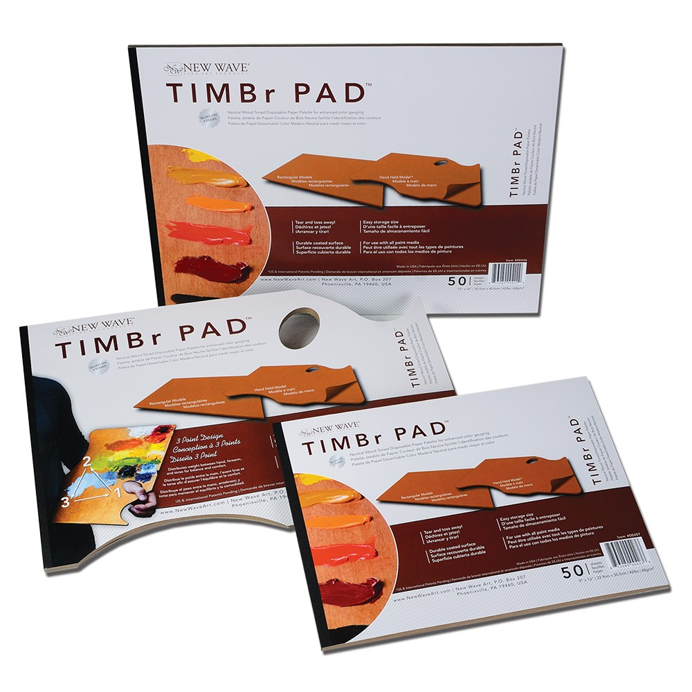 New Wave Timbr Wood Toned Palette Pads