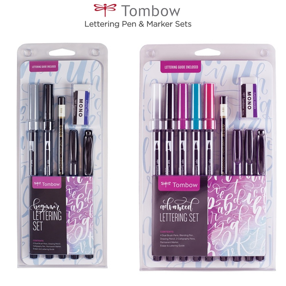Tombow Lettering Pen & Marker Sets