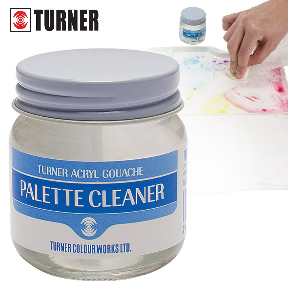 Cleans Palettes Completely Of Watercolor, Gouache And Acryl Gouache Stains