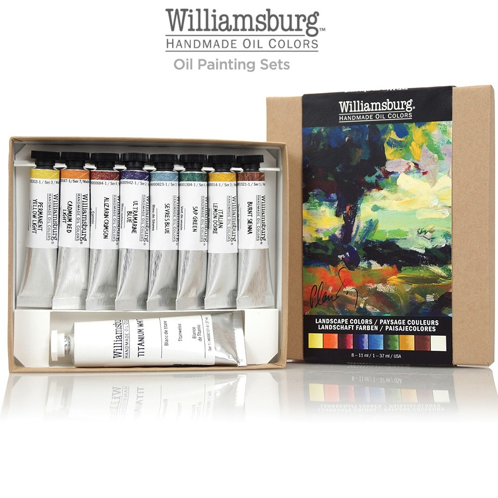 Williamsburg oil paints and mediums jerrys artarama williamsburg handmade oil painting sets nvjuhfo Image collections