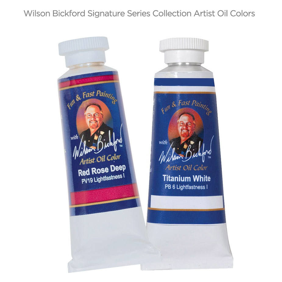 Wilson Bickford Signature Series Collection Artist Oil Colors
