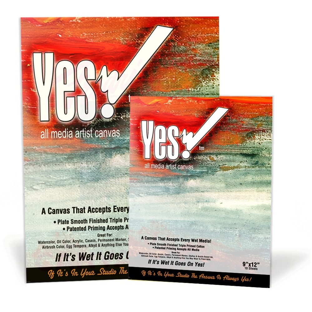 Yes! Canvas Pads - Great for mixed media, acrylic painting, and more