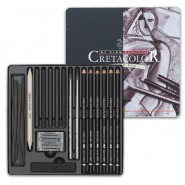 Cretacolor Black Box Drawing Sets