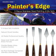 Painter's Edge Knife Sets by Creative Mark