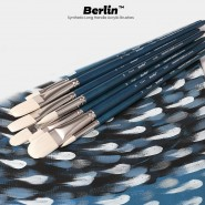 Berlin Synthetic Long Handle Acrylic Brushes & Sets