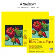 Strathmore 300 Series Black Canvas Pads