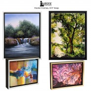 """Illusions Floater Canvas Frames 3/4"""" Deep"""