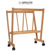 Cappelletto Allegra Premium Wood Print Rack