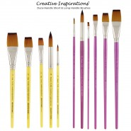 Creative Inspirations Dura Handle Brushes