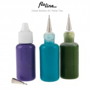 Creative Mark Flo Line Detail Bottles w/ Metal Tips