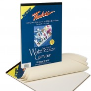 Fredrix Watercolor Archival Cotton Canvas Boards Pads