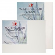 Fredrix Watercolor Archival Cotton Canvas Boards