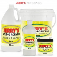 Jerry's Studio Acrylic Mediums