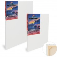 "Paramount 11/16"" Professional Cotton Stretched Canvas"
