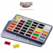 SoHo E-Z Lift Artist Watercolors Pan Set of 36