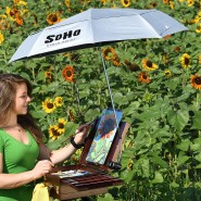 SoHo Urban Artist UV Sunscreen Umbrella
