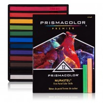 Prismacolor Nupastel Set of 12 Assorted Colors