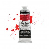 Grumbacher Pre-Tested Professional Oil Colors New Tube features more accurate paint swatches- pure and mixed with white