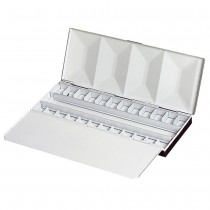 FOME Empty Watercolor Half Pan Boxes for 24 Half Pans