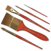 Winsor & Newton Sceptre Gold II Short Handle Brushes