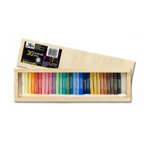 Jack Richeson Yarka Medium Soft Pastel Wood Box Sets