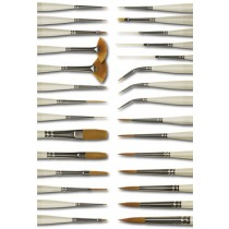 Silver Brush Ultra Mini Golden Taklon Brush Sets