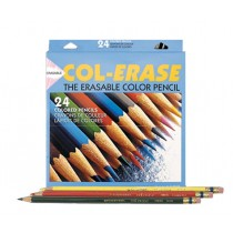 Col Erase 24 Piece Erasable Pencil Set
