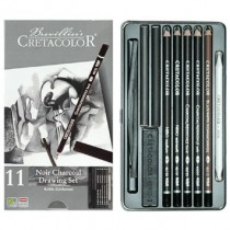 Cretacolor Noir Charcoal Drawing Set