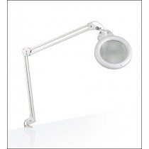 Daylight Ultra Slim Fluorescent Magnifier Lamp And Accessories