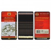 Koh I Noor Toison dOr Graphite Pencil Artist Tin