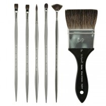 Winsor & Newton Eclipse Black Sable Brushes